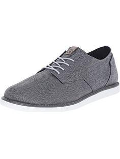 Volcom Men's Dapps Oxford, Cool Grey, 10 C/D US ❤ Volcom Footwear Mens