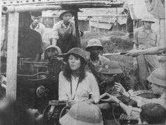 "Jane Fonda in Vietnamese camp...one of the most reviled photos of all time. You can be against war, but not against our soldiers. I will never forgive this disgraceful ""American"""