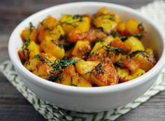 Indian Fried Dill Potatoes - My Heart Beets