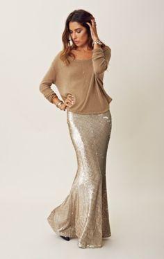 Line & Dot sequin mermaid skirt!  My new belly dance need!