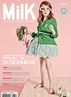 Looking forward to receiving our copy of MilK Magazine in the post!