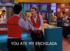 """The 28 Most Important Lessons We Learned From """"Drake And Josh""""  YOU ATE MY ENCHILADA Crazy Steve is my spirit animal XD"""