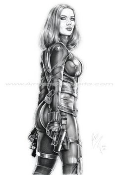 Black Widow Winter Soldier II - by Armando Huerta. Hq Marvel, Marvel Girls, Marvel Dc Comics, Marvel Heroes, Natasha Romanoff, Comic Book Characters, Marvel Characters, Female Characters, Scarlett Johansson