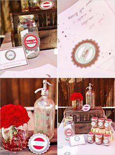 The Soda Pop Shop Bridal Shower - The Wedding Chicks