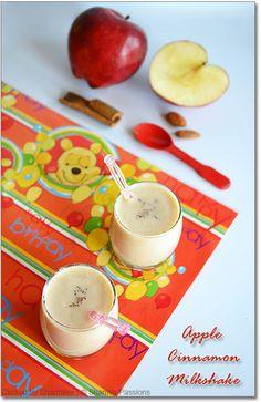 Apple Cinnamon Milkshake Recipe