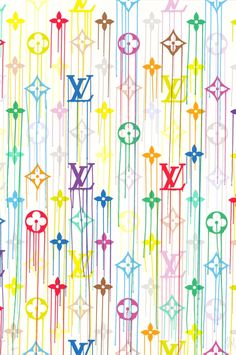 'Liquidated Louis Vuitton Print' by Parisian artist ZEVS