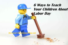 teaching labor day lego