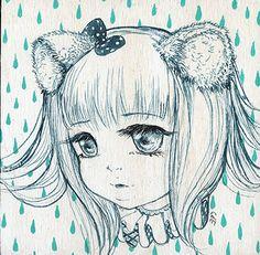 Raindrops Keep Falling On My Head by camilladerrico.deviantart.com on @DeviantArt