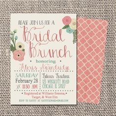 17 Printable Bridal Shower Invitations You Can DIY Pinterest