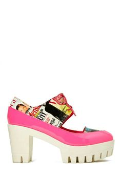 Privileged Paramour Platform - Pink