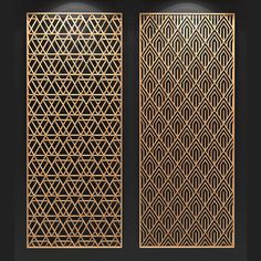 Screen Design, Gate Design, Door Design, Metal Garden Screens, Metal Screen, Laser Cut Screens, Laser Cut Panels, Pattern Wall, Tile Patterns