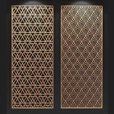 Gate Design, Screen Design, Door Design, Metal Garden Screens, Metal Screen, Laser Cut Screens, Laser Cut Panels, Pattern Wall, Tile Patterns