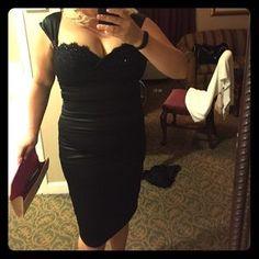 Tadashi Collection Dresses & Skirts - Tadashi Gorgeous Little Black Dress Size 14