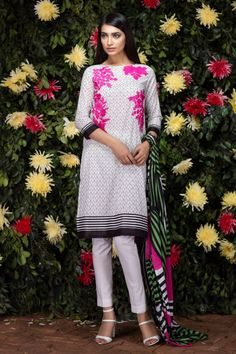 Buy Khaadi Lawn 2016 Collection Online. Master Replica. 3Pcs Embroidered Lawn Suit with Chiffon Dupatta. Cheap Price. Good Quality. FREE Delivery Pakistan.