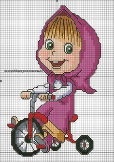New crochet free pattern bear cross stitch ideas 123 Cross Stitch, Cross Stitch Cards, Cross Stitch Flowers, Cross Stitching, Cross Stitch Embroidery, Cross Stitch Patterns, Stitch Disney, Stitch Cartoon, Masha And The Bear