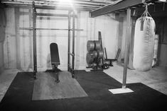 A rack, a bar, a platform, and some iron are the foundational tools for old school strength. The strongmen of yore managed to incredible feats of strength without a bench, nevermind a lat-pulldown machine or an elliptical. With some patience, research and a keen eye for kijiji deals, you can assemble a home/garage/basement gym that will last forever for less then the cost of a 2 year gym membership.
