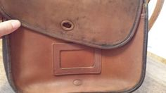 Coach Rehab and Rescue Club - How to clean vintage leather Coach purses