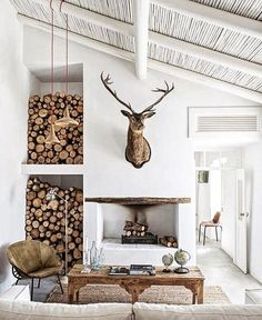 There are numerous ways to make your home interior design look more interesting, one of them is using cabin style design. With this inspiring gallery you can make fantastic cabin style in your home.