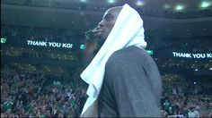 Kevin Garnett may wear another uniform now but he is and will always be a Celtic.