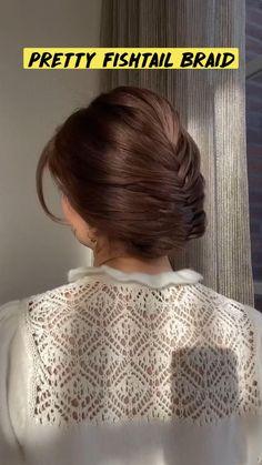Bun Hairstyles For Long Hair, Braided Hairstyles Tutorials, Diy Hairstyles, Buns For Long Hair, Bun Hair Tutorials, Easy Hair Buns, Medium Hair Styles, Long Hair Styles, Hair Upstyles