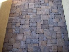 random pattern pavers