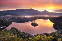 Lago di Bled - Bled [done November 2015]