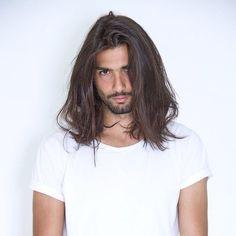 Hair And Beard Styles, Curly Hair Styles, Natural Hair Styles, Long Dark Hair, Long Curly Hair, Boys Long Hairstyles, Grunge Hair, Great Hair, Medium Hair Styles