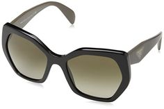 Prada PR16RS Sunglasses 1AB1X1-56 - Black Frame, Brown Gr... https://www.amazon.com/dp/B00URJC1UQ/ref=cm_sw_r_pi_dp_x_qenVybZ9KAQ7N