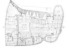plan | Notre Dame du Haut | le Corbusier