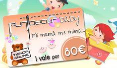 Consigue un vale de 80€ para comprar en aspuntadasbaby.com #SorteosActivos #Sorteamus Sorteo por @aspuntadas