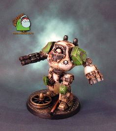 Home of Cadaver: Pre-Heresy Death Guard Contemptor Dreadnought finished Dreadtober Challenge #3