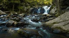 Cochran Mill Falls 2 - Cochran Mill Falls in the Springtime.