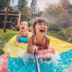 #Repost @gopro  Photo of the Day! Lily and Eli beat the summer heat in the best possible way...a slip-n-slide! Photo via @joekonekphotography.Submit your best photos by clicking the link in our profile! #GoPro #Family #Summer #armorx #slide #sports #life #lifestyle #holidays #vacation #journey #travel #family