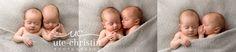 Identical Twin Newborn Session