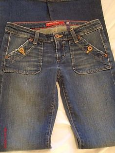 """Big Star-Vee"" Denim Jeans Juniors/Womens Sz-25r Distressed/4 Pocket 28""x34""SALE SALE---PRICE DROP--FREE SHIPPING!!!!!"