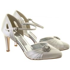Mariella Wedding Shoes By Rainbow Couture