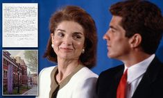 Jackie Kennedy's letters about JFK Jr are set to hit the auction