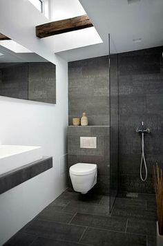 Shower Room By Norm Architects. Find A Way To Conceal Composting Toilet  Random Inspiration
