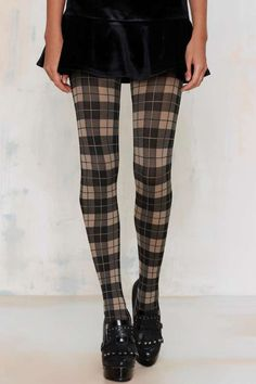 Freakin' cold + Freakin' cute = Perfect combo for the Plaid It Up Tights.
