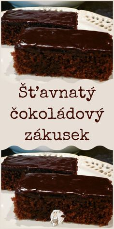 Baking Recipes, Dessert Recipes, European Dishes, Czech Recipes, Deserts, Food And Drink, Cooking, Cakes, Cooking Recipes