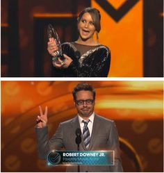 Jenn and Rob gave the best speeches of the PCA's but it's mostly because they are both so cooly derp.