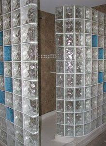 Glass Block Bathroom Ideas glass block shower - lawson construction - bathroom | bathroom