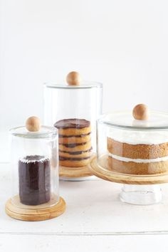 DIY Cake Dome & Cloche Jars - A Beautiful Mess