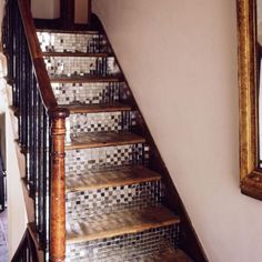 DECORATED DIY STAIRS | Charleyworks.com