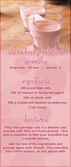 #healthy #fruit #smoothies #recipes |