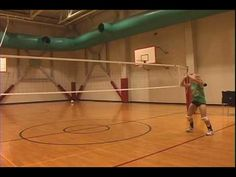 Aubrey Podschweit - Volleyball Setter / Libero - Skills / Technique