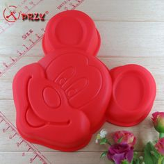 Chris's Home Mickey Modelling Cake Mold the Food Safety Certification Baking Cake Mold Silicone Cake Mould