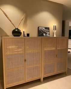 "🤍 Julie Knotten on Instagram: ""🌾 _____________________________________________________________ #ikeastockholm #ikea #home #myhome #interior #interiør #homedecor…"" Ikea Stockholm, Credenza, Divider, Cabinet, Storage, Room, Furniture, Home Decor, Clothes Stand"