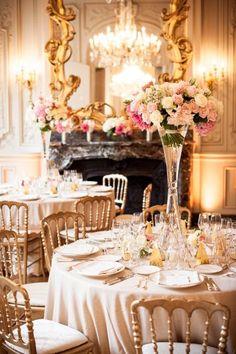 Una boda inspirada en el romanticismo de Paris, llena de brillo y tonos dorados #WeddingBroker