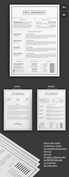 Pin by Papergipsy on Resumes/CV Pinterest Resume cv